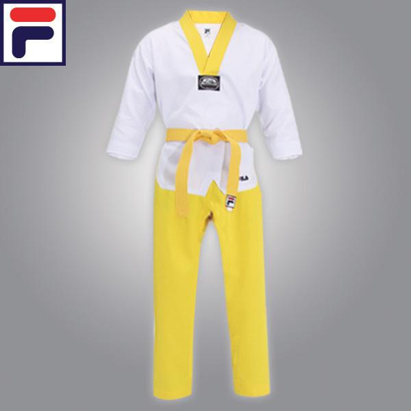 [FILA] 휠라 반반도복(백색/노랑)